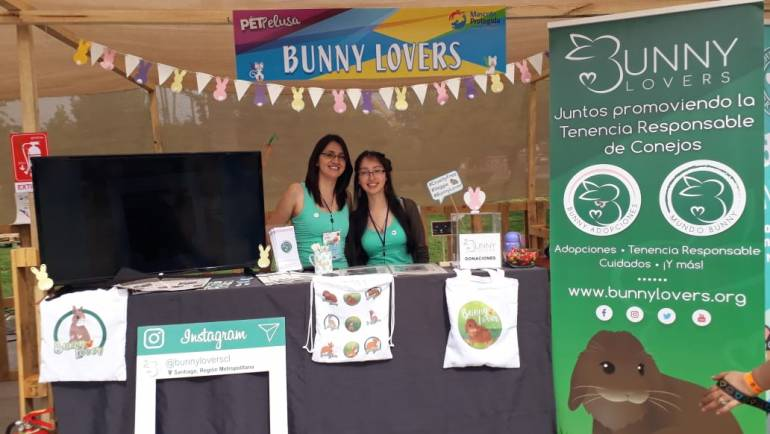 Bunny Lovers se lució en la primera edición de PetPelusa